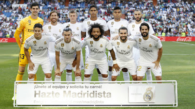 Inversión Real Madrid Temporada2019