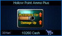Hollow Point Ammo Plus