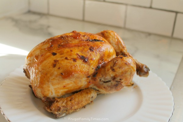 instant pot whole bbq chicken