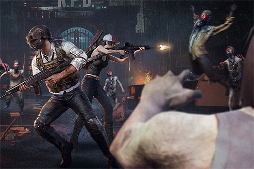 Đối đầu với bầy zombie rất cần sự phối hợp giữa các thành viên trong đội