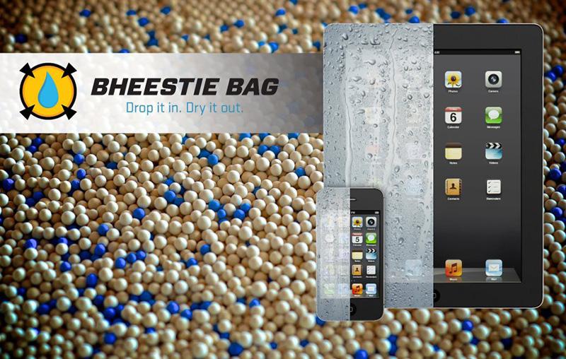 Bheestie Bag dries out wet phones