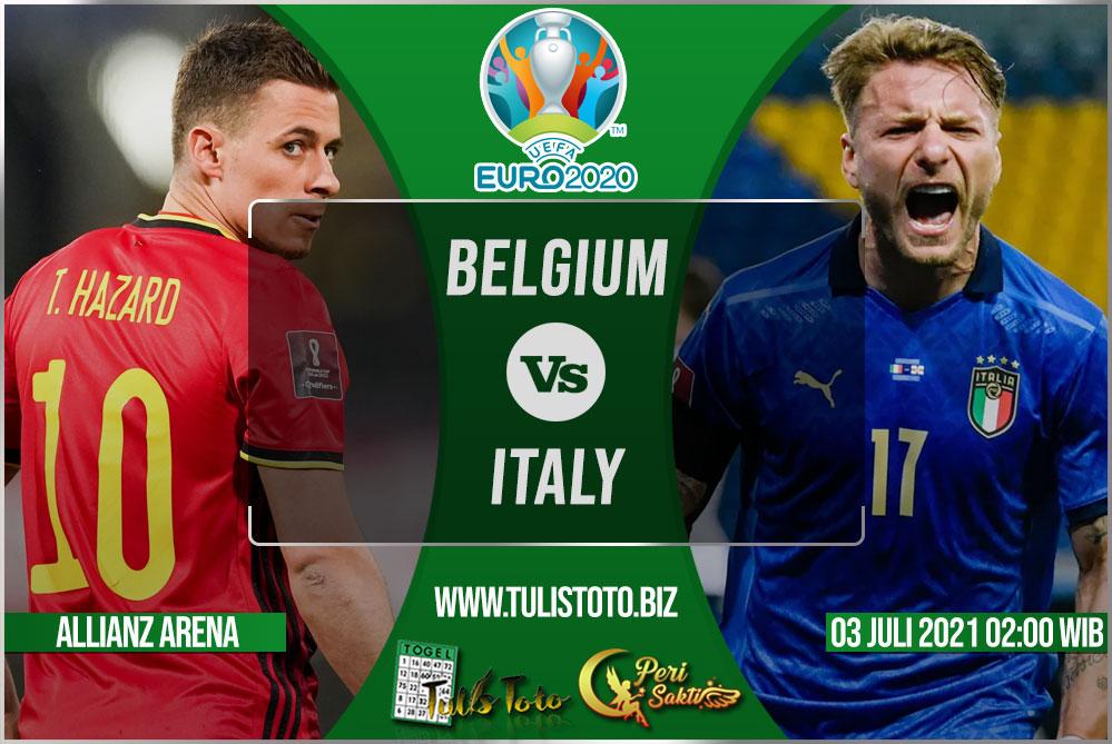 Prediksi Belgium vs Italy 03 Juli 2021