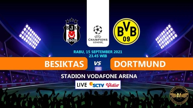 Prediksi Besiktas Vs Borussia Dortmund