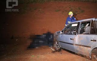 Motorista morre em acidente entre Luizina e Campo Mourão