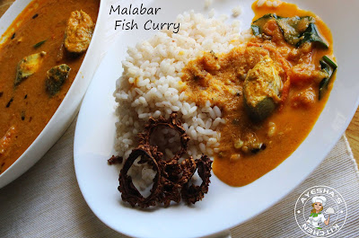 ayeshas kitchen Kerala fish curry with coconut ayala fish spicy flavorful yummy malabar recipe traditional fish curry creamy along with steamed rice tasty malabar recipes kerala cooking recipes