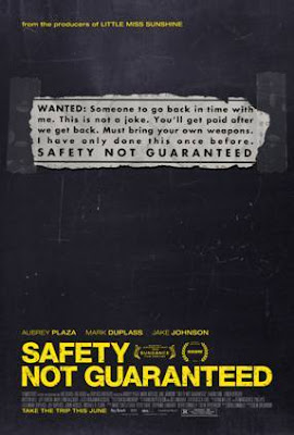 Safety Not Guaranteed Poster