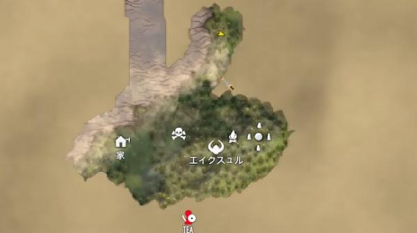 Valheim4 マップ画像