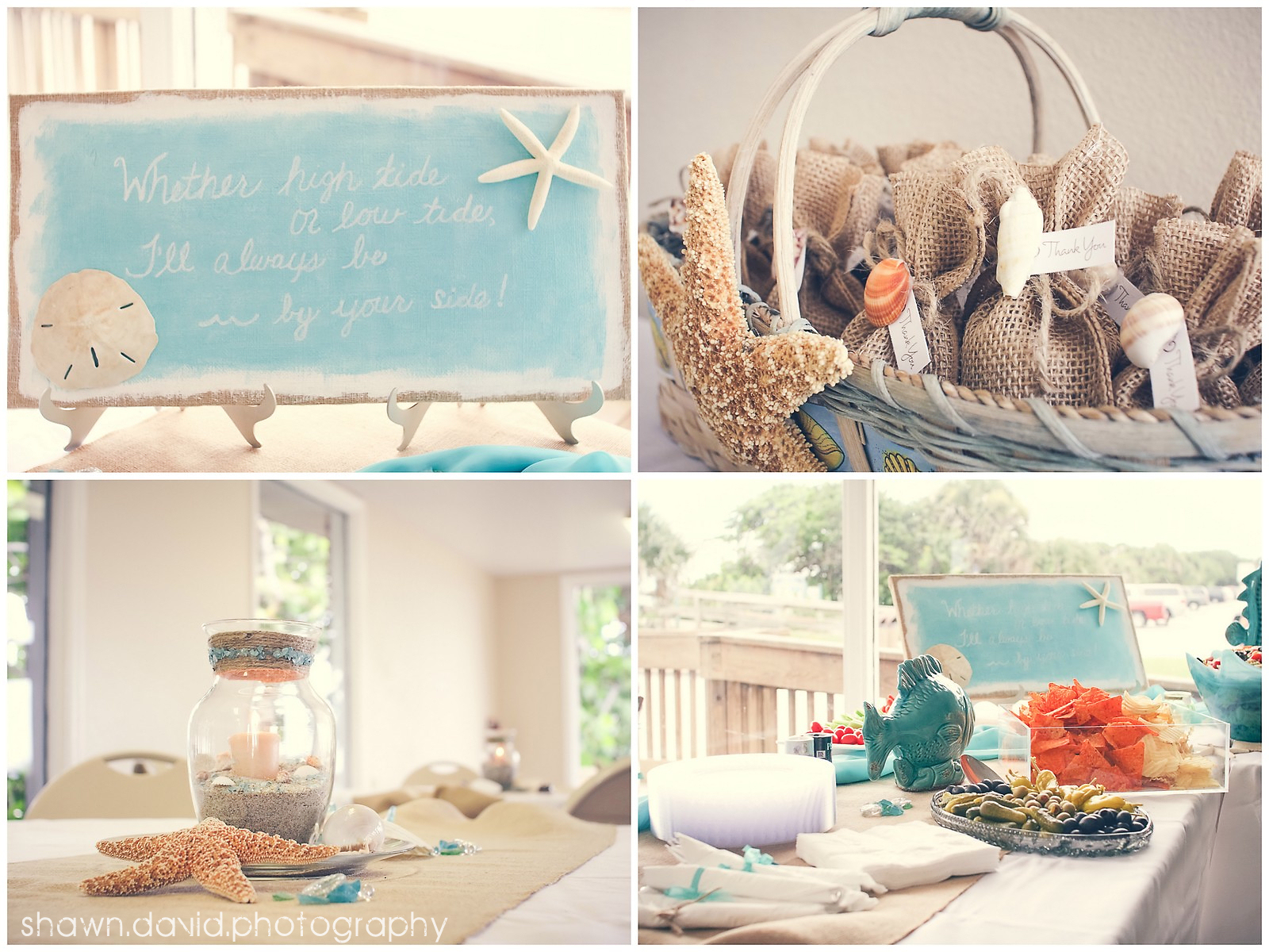 Here Are Some Great Pictures From An Awesome Wedding Celebration Last Week I Love The Whole Beachy Theme They Did Super Cute Thanks Guys