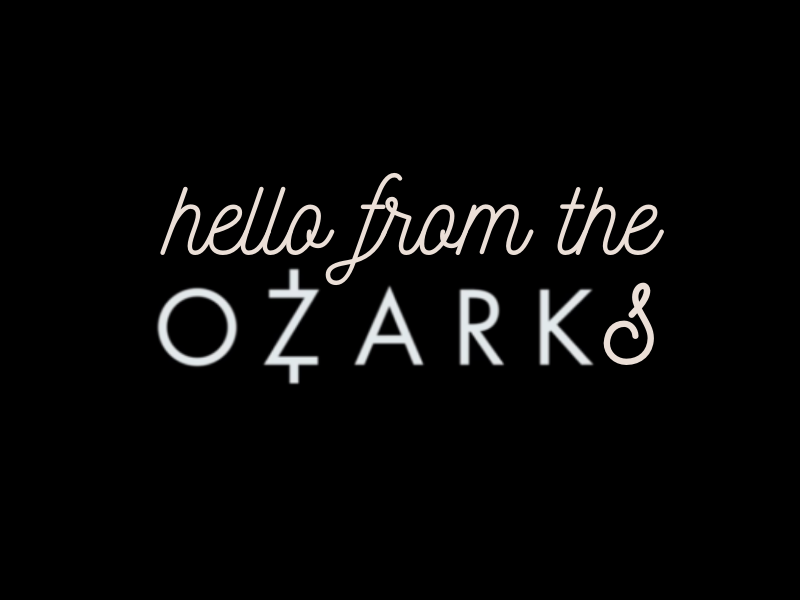 Postcard from the Ozarks | biblio-style.com