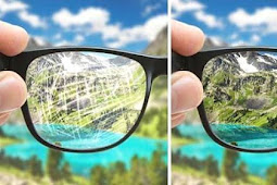 Cara Memperbaiki Lensa Kacamata Yang Tergores Mudah dan Tuntas
