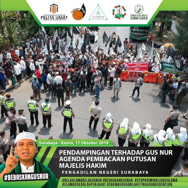 Sidang Gus Nur Surabaya