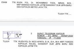 Muhammad Fadil Imran Pindah Tugas dari Kapolda Jatim ke Polda Metro Jaya