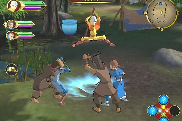 Free download game avatar. The last airbender: elemental escape.