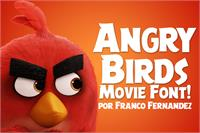 Free Angry Birds Movie Font