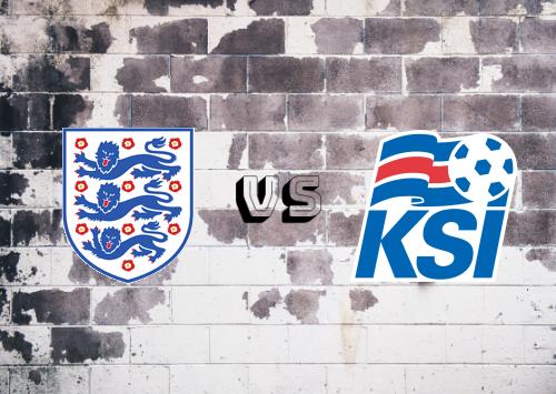 Inglaterra vs Islandia  Resumen y Partido Completo