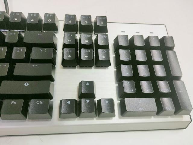 免軟體調光的Cooler Master CK351-SKOL1 RGB電競機械鍵盤(青軸)開箱分享 - 2