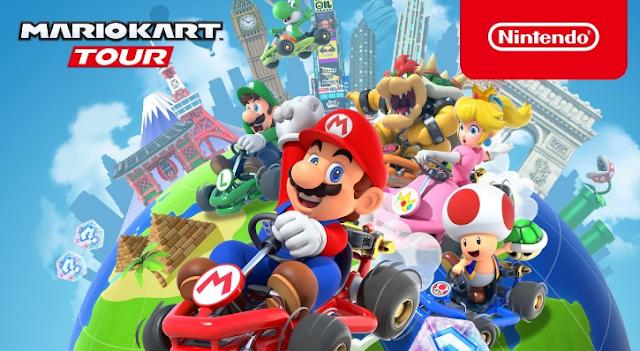 في يوم إطلاقها حققت لعبة ماريو كارت أزيد من 20 مليون عملية تحميل على متجري جوجل بلاي وأب ستور.