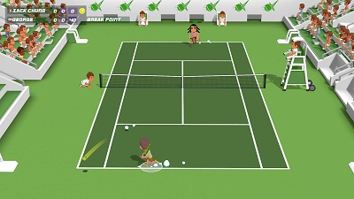 Super Tennis Blast Gameplay