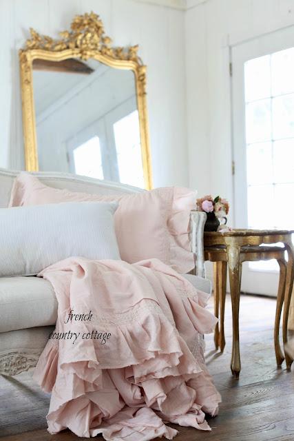 10 Favorite Blush linens for your bedroom