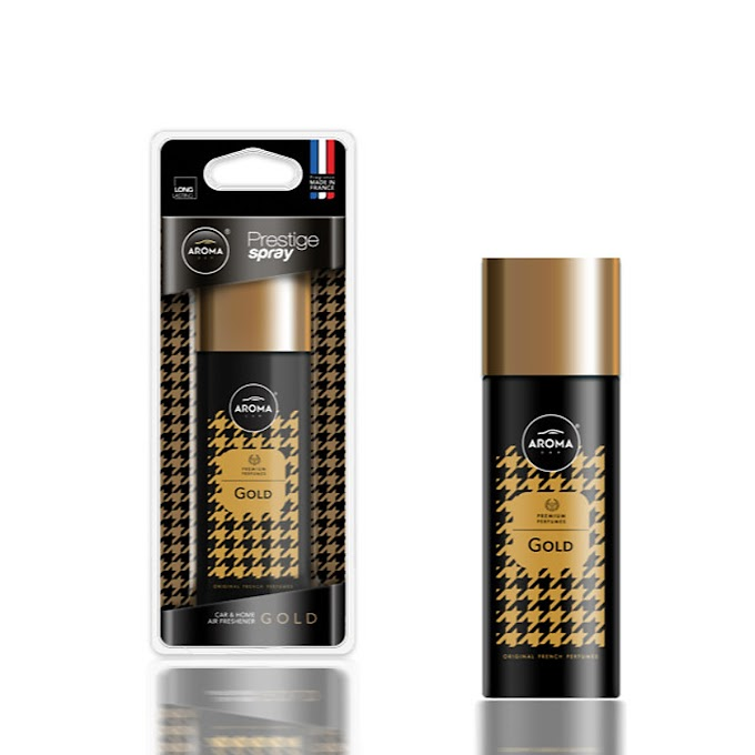 Nước hoa dạng xịt Aroma Car Prestige Spray 50 ml - Gold