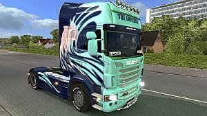 Blured Emperor skin for Scania R