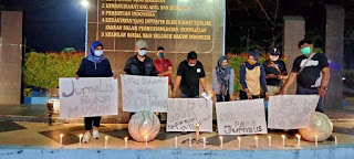 Kutuk Kekerasan Pada Wartawan,IJM Gelar Aksi Solidaritas