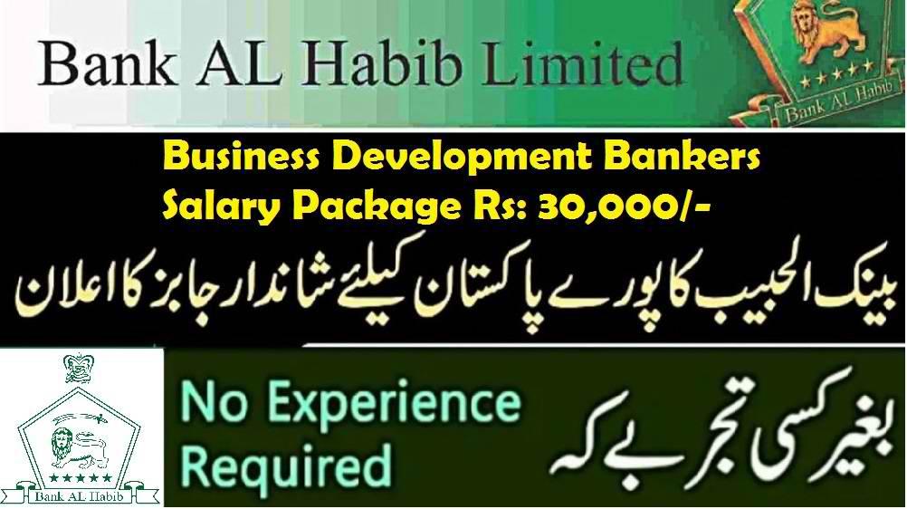 Bank Al Habib Limited Jobs 2020 for Business Development Bankers   allsindhjobz