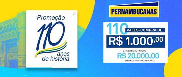 """Promoção Pernambucanas: """"110 anos de História"""" Blog Top da Promoção #topdapromocao @topdapromocao www.topdapromocao.com.br http://topdapromocao.blogspot.com sorteio facebook instagram twitter youtube pinterest"""