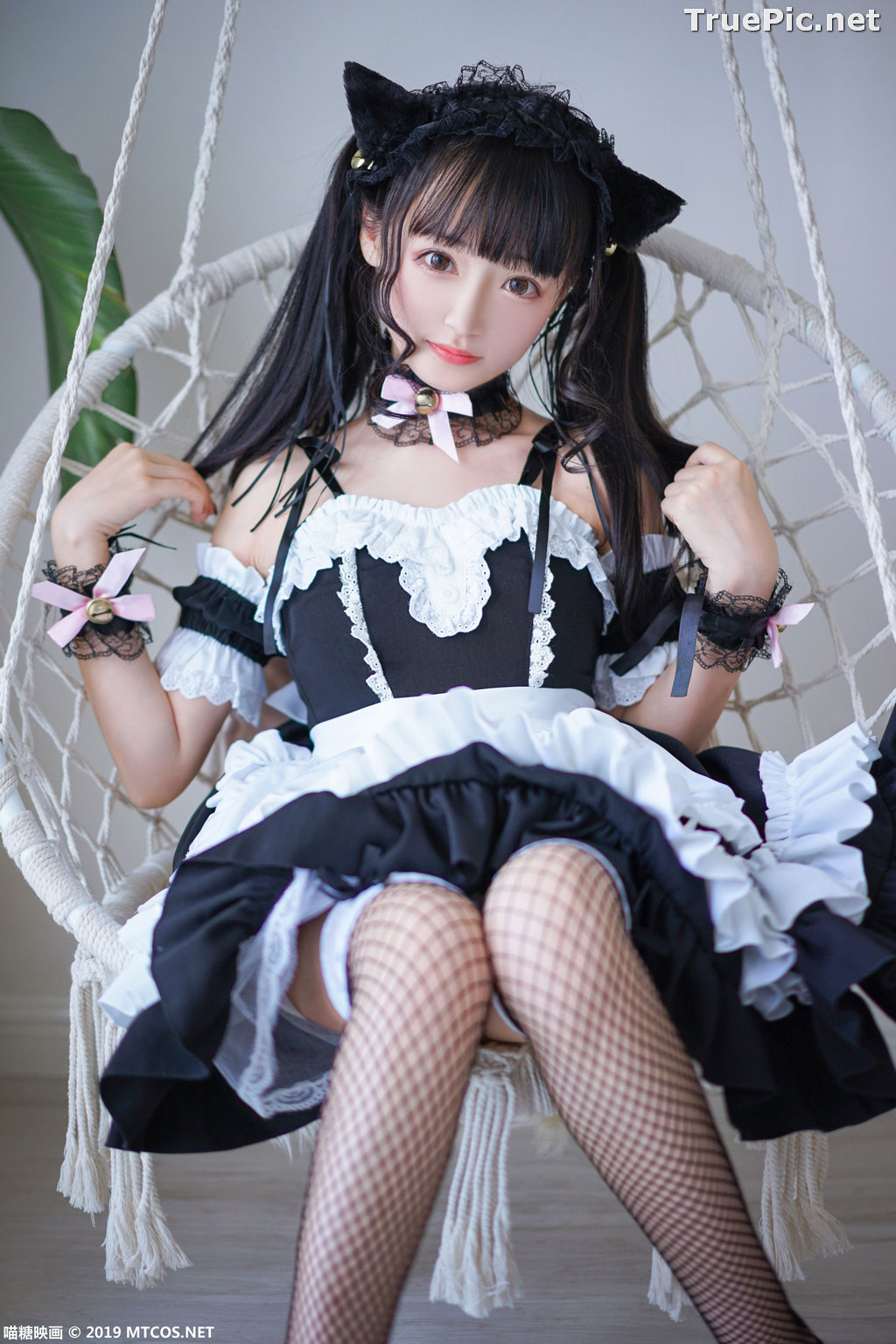 Image [MTCos] 喵糖映画 Vol.051 - Chinese Cute Model - Lovely Maid Cat - TruePic.net - Picture-5
