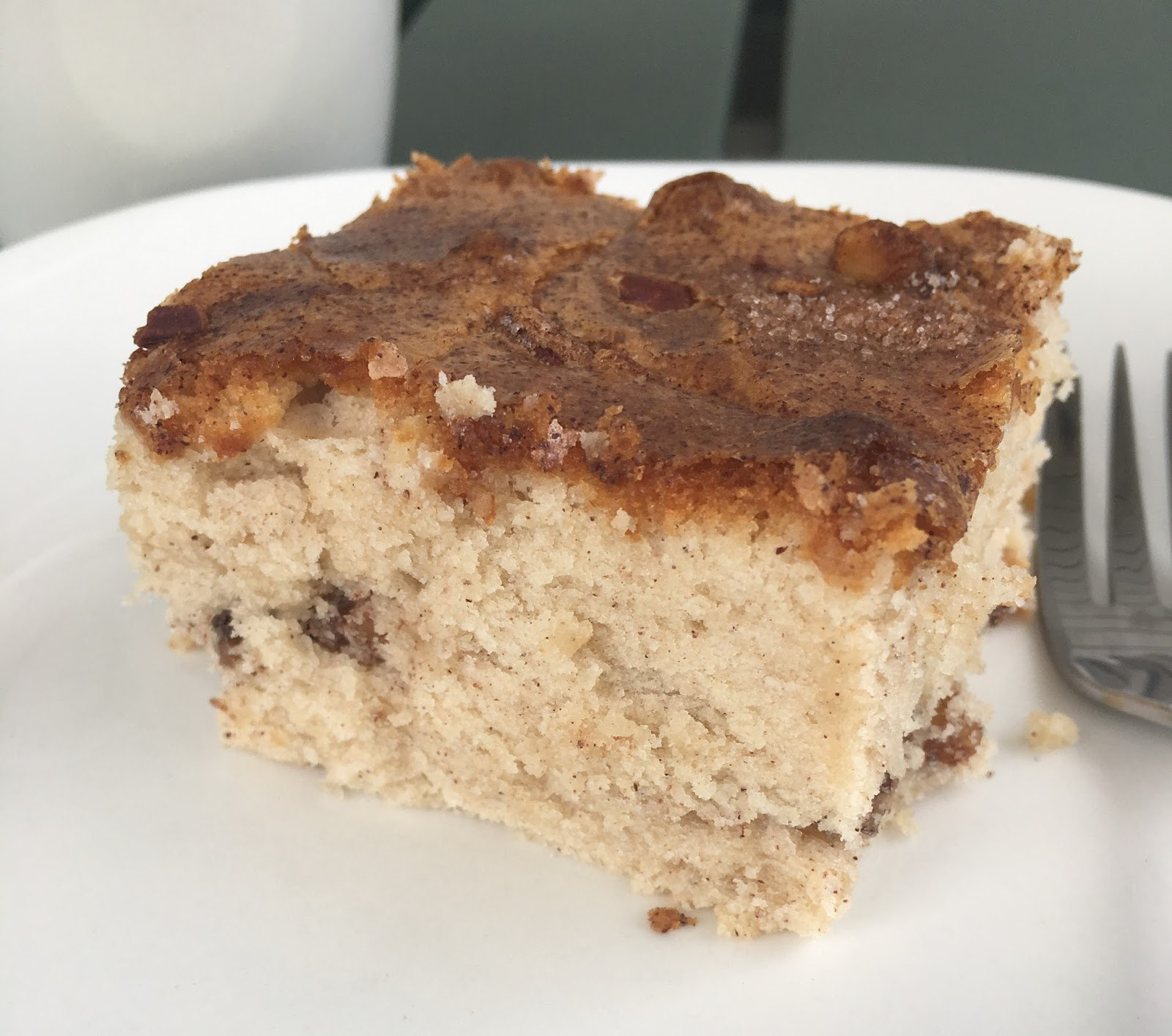 Maple sour cream coffee cake recipe