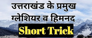 उत्तराखण्ड के प्रमुख ग्लेशियर एवं हिमनद, Glacier In Uttarakhand, Uttarakhand Gk In Hindi, jardhari classes, uttarakhand ka bhugol, uttarakhand geography in hindi
