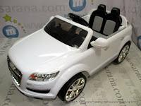 samping Pliko Q7 Audi White Mobil Mainan Aki