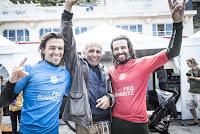 1 delpero brothers Longboard Pro Biarritz foto WSL Damien Poullenot