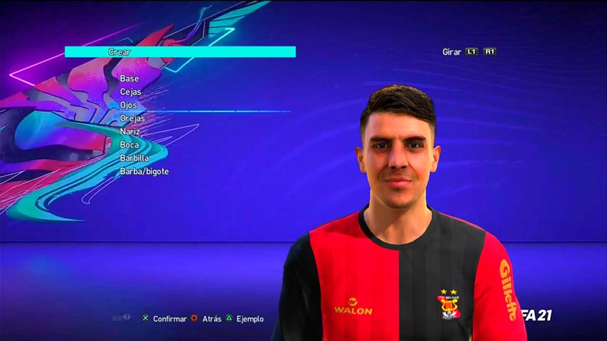 Mariano Vázquez Face For PES 2013