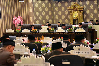Rancangan KUPA PPAS-P Pemkab Way Kanan Tahun 2019 Disampaikan
