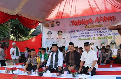 Polres Lampung Timur Peringati Nuzulul Qur'an dan Safari Ramadhan