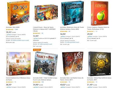Giochi da tavolo boardgame Amazon