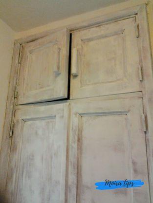 come dipingere un vecchio armadio