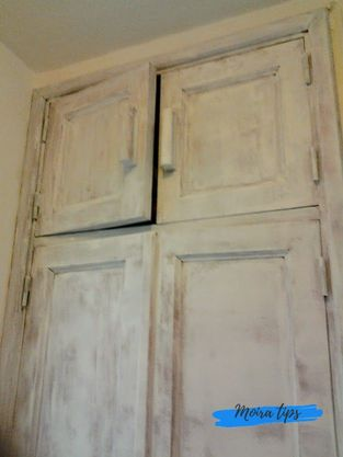 verniciare vecchi mobili di bianco
