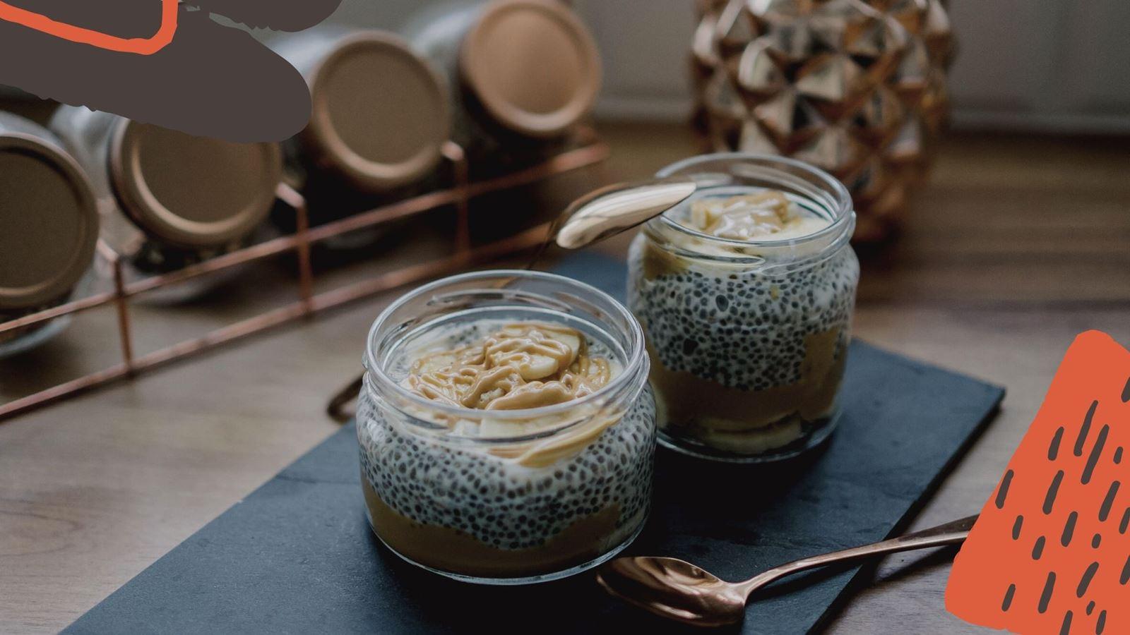 8 jak zrobić zdrowy i szybki deser z nasionami chia pudding chia przepis jak przygotować z truskawkami, pomysł na łatwy deser na sniadanie how make easy health pudding chia receipes