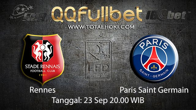 Prediksi Bola Jitu Rennes vs Paris Saint Germain 23 September 2018 ( French Ligue 1 )