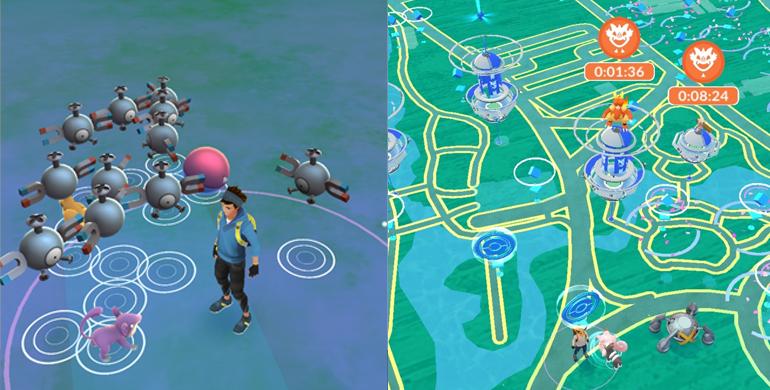 Telas de Spawn - Pokémon GO