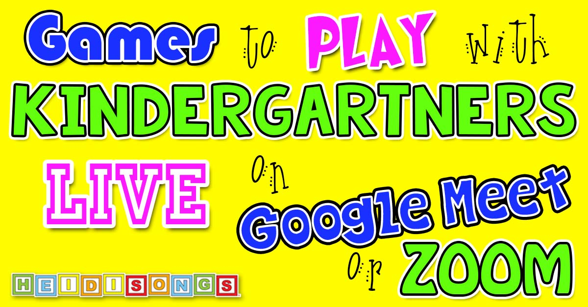 Games To Play With Kindergartners Live On Google Meet Or Zoom It can also be really enjoyable because these students have the flexibility to learn languages more quickly and are usually. kindergartners live on google meet or zoom
