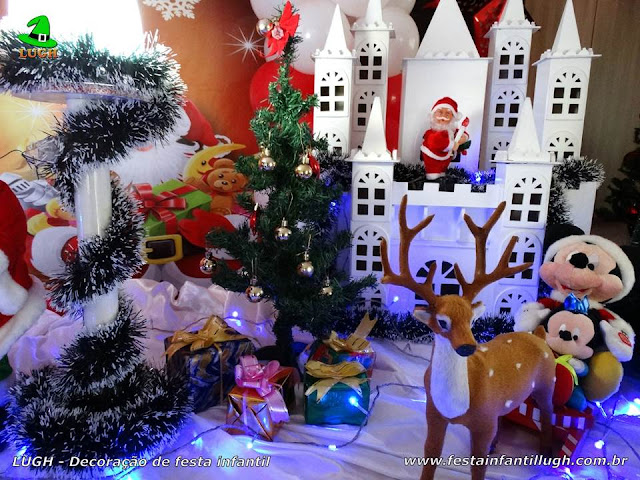 Decoração infantil Natalina (Papai Noel)