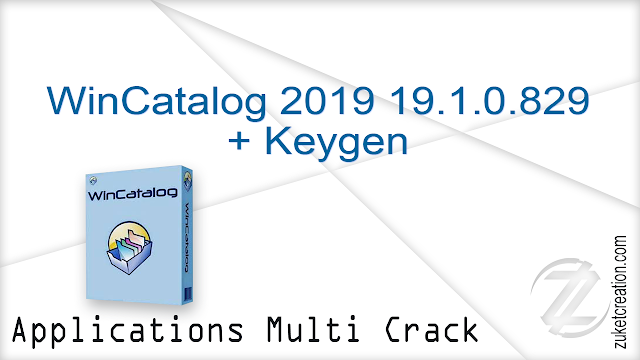 WinCatalog 2019 19.1.0.829 + Keygen