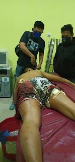 Coba Tabrak Petugas, Satresnarkoba Lumpuhkan Pelaku dengan Tembakan Terukur