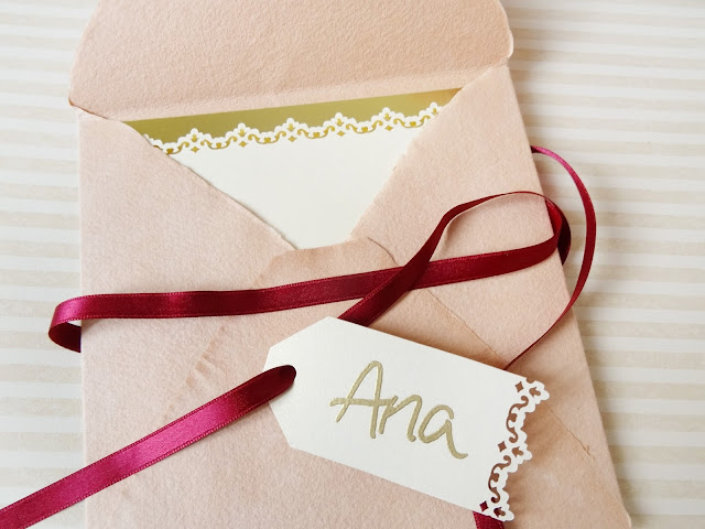 tarjeta dama honor