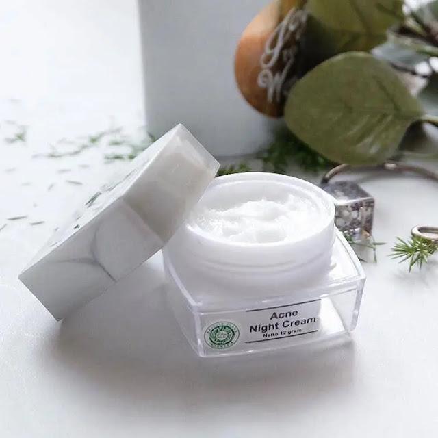 Cream Malam MS Glow Acne