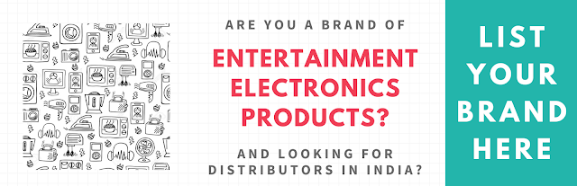 List Your Entertainment Electronics Products Here...