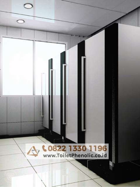 Toilet Cubicle Sukabumi (Partisi Kamar Mandi Phenolic) Murah
